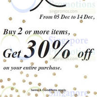 Read more about Promod 30% Off Promo 5 - 14 Dec 2014