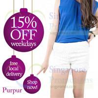 Read more about Purpur 15% Off Promo 1 - 5 Dec 2014