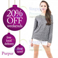 Read more about Purpur 20% Off Promo 6 - 7 Dec 2014