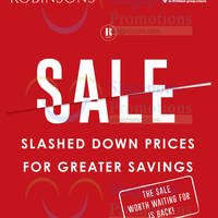 Read more about Robinsons Year End Sale 19 - 31 Dec 2014
