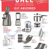 Read more about Robinsons Sale GST Absorbed 24 - 28 Dec 2014