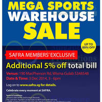 Read more about Royal Sporting House Warehouse Sale Safra Members Preview 3 Dec 2014