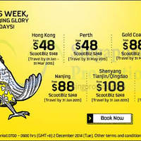 Read more about Scoot From $48 2hr Promo Air Fares 2 Dec 2014
