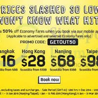 Read more about Scoot From $16 24hr Promo Air Fares 11 - 12 Dec 2014