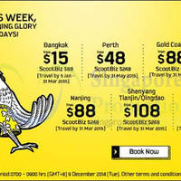 Read more about Scoot From $15 2hr Promo Air Fares 9 Dec 2014