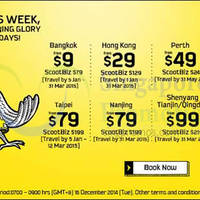 Read more about Scoot From $9 2hr Promo Air Fares 16 Dec 2014