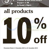 Read more about Sea Horse 10% OFF Storewide Promo 11 - 21 Dec 2014