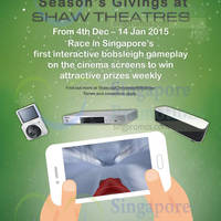 Read more about Shaw Theatres Christmas App Promo 4 Dec 2014 - 14 Jan 2015