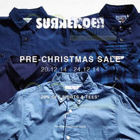 Surrender Pre-Christmas Sale 20 - 24 Dec 2014