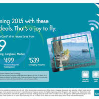 Read more about SilkAir From $199 Promo Air Fares 4 Dec 2014 - 4 Jan 2015