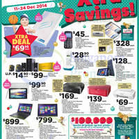 Read more about NTUC Fairprice Electronics, Groceries, Christmas Offers & More 11 - 25 Dec 2014