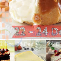 Starbucks Buy 1 Get 1 FREE Slice of Cake 22 - 24 Dec 2014