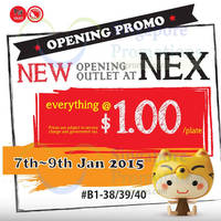 Read more about Sushi Express $1/plate Promo @ Nex 7 - 9 Jan 2015