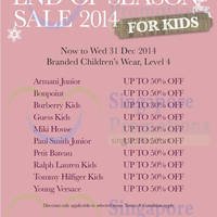 Read more about Takashimaya Kids End of Season Sale 26 - 31 Dec 2014