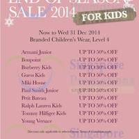 Read more about Takashimaya Kids End of Season Sale 26 - 31 Dec 2014