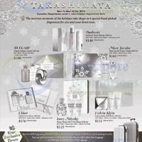 Read more about Takashimaya D.S. Fragrances Promo Offers 20 - 24 Dec 2014
