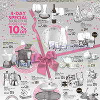 Read more about Takashimaya Household Promo Offers 2 - 25 Dec 2014