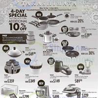 Read more about Takashimaya Tefal & Rowenta Kitchenware & Electronics Offers 2 - 16 Dec 2014