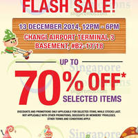 Read more about The Cocoa Trees 6hr Flash Sale @ Changi Airport T3 13 Dec 2014