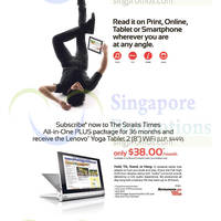 "Read more about Straits Times Subscribe & Get Lenovo Yoga Tablet 2 8"" Wifi 9 Dec 2014"
