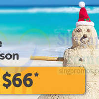 Read more about TigerAir From $66 (all-in) Promo Air Fares 8 - 30 Dec 2014