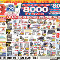 Read more about Courts Year End Sale Offers 6 - 8 Dec 2014