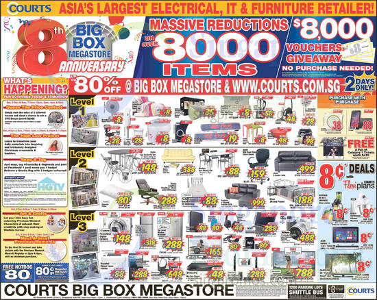 Courts Year End Sale Offers 6 8 Dec 2014