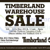 Read more about Timberland Warehouse Sale @ Safra Yishun 5 - 14 Dec 2014