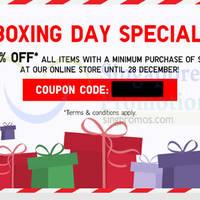 Read more about Uniqlo 15% OFF Storewide Online Promo 26 - 28 Dec 2014