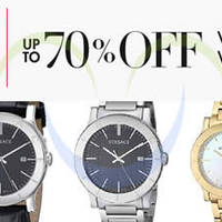 Read more about Versace Up To 70% Off Watches 24hr Promo 17 - 18 Dec 2014