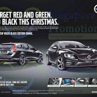 Volvo Black Edition Range Features & Offer 25 Dec 2014