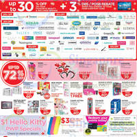 Read more about Watsons Up To 30% Off Selected Brands 15 - 21 Dec 2014