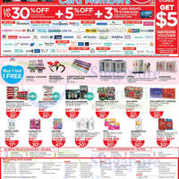 Read more about Watsons Free $5 Voucher, Up To 30% Off & More For DBS/POSB Cardmembers 9 - 10 Dec 2014
