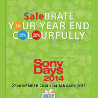 Read more about Sony Smartphones, TVs, Cameras & More Year End Sale Offers 27 Nov 2014 - 4 Jan 2015