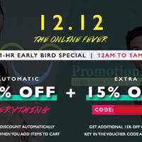 Read more about Zalora 30% OFF Storewide (NO Min Spend) 1hr Coupon Code 12 Dec 2014