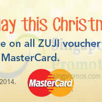 Read more about Zuji Buy Gift Voucher & Get 5% Rebate 15 - 31 Dec 2014