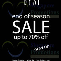 bYSI End of Season Sale 18 Dec 2014