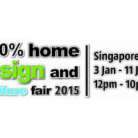 Read more about 100% Home Design & Furniture Fair @ Singapore Expo 3 - 11 Jan 2015