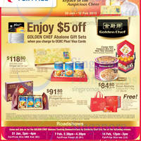 NTUC Fairprice Golden Chef Abalone Gift Sets Offers 30 Jan - 12 Feb 2015