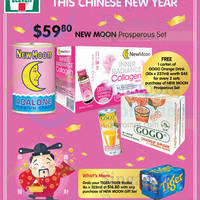 7-Eleven New Moon Prosperous Set Free Gift Offer 29 Jan - 24 Feb 2015