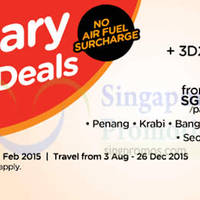 Air Asia Go 3D2N From $99 Flights + Hotels + Taxes 26 Jan - 1 Feb 2015