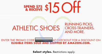 Amazon shoe coupon 30