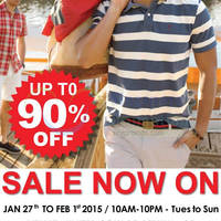 Arrow Fashion Atrium Sale @ United Square 27 Jan - 1 Feb 2015