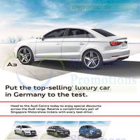 Read more about Audi A3 Sportback, A6 & Q5 Offers 10 Jan 2015