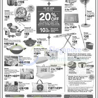 Read more about BHG 20% OFF Home & Living Items 23 - 25 Jan 2015