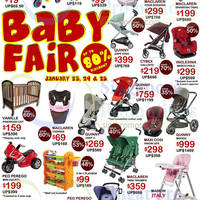 Read more about Baby Hyperstore Up To 80% off Baby Fair 23 - 25 Jan 2015