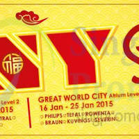 Read more about Best Denki Pre-CNY Sale @ Great World City 16 - 25 Jan 2015