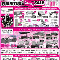 Read more about Big Box Furniture Opening Sale Offers 10 - 11 Jan 2015