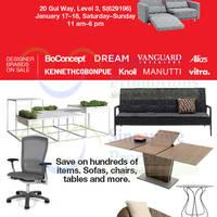 Read more about BoConcept, Dream & Vanguard Interiors Warehouse Sale 17 - 18 Jan 2015
