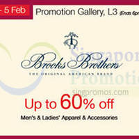 Read more about Brooks Brothers Promotion @ Isetan Scotts 30 Jan - 5 Feb 2015